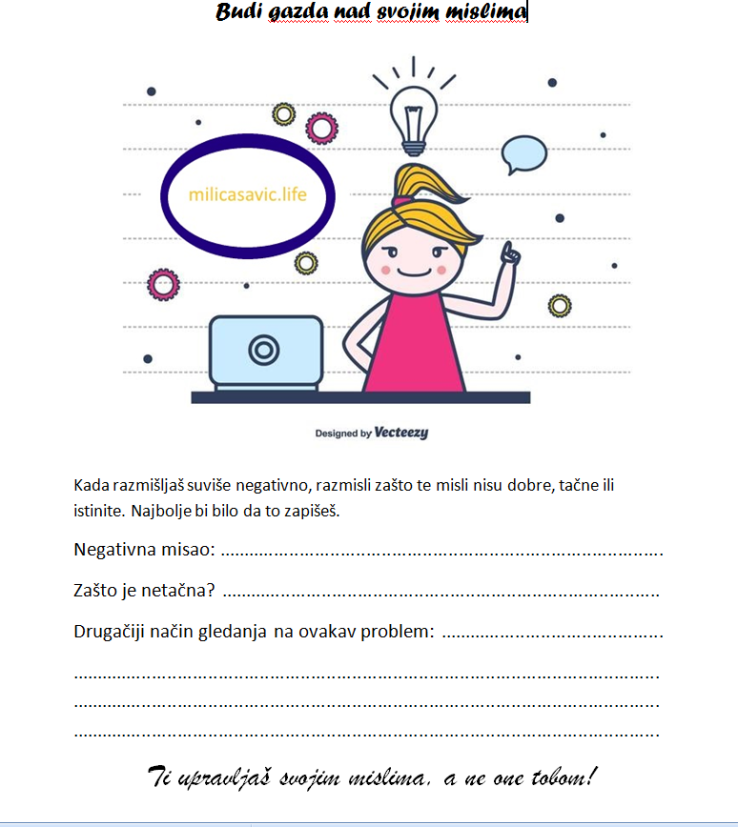 Blog-Budi gazda svojim mislima
