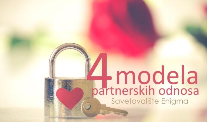 PARTNERSKO SAVETOVANJE- 4 modela partnerskihodnosa